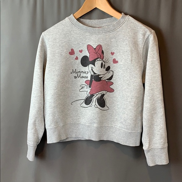 Mini Mouse sweatshirt, SZ 11-12, Uniqlo